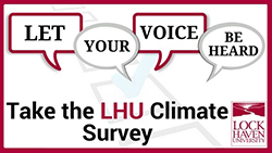 LHU Campus Climate Survey: Let Your Voice Be Heard