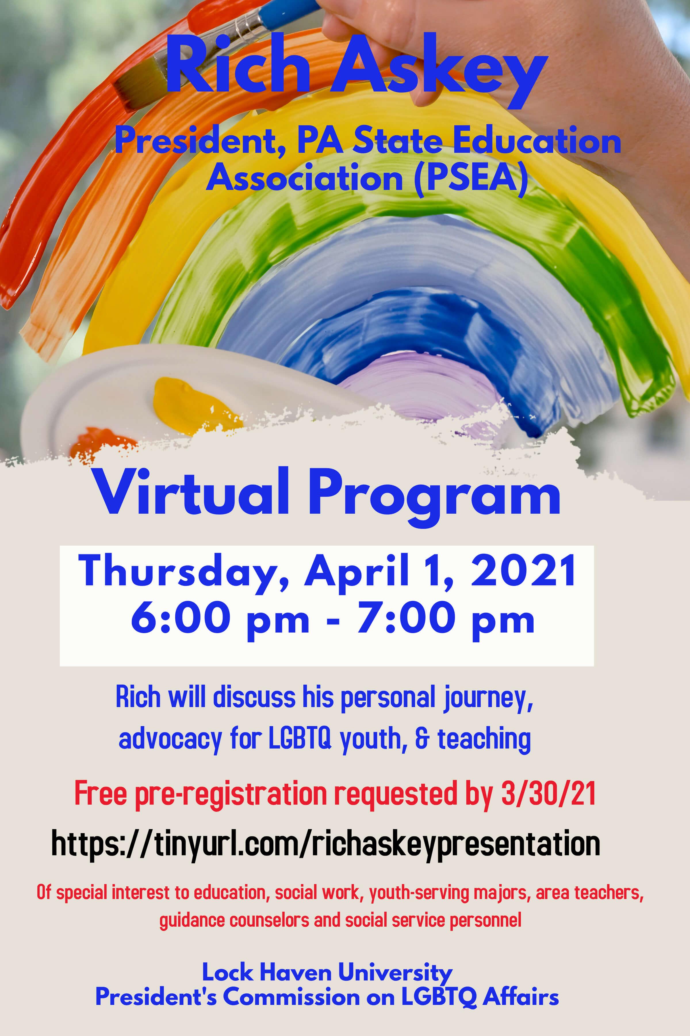 Rich Askey Event flyer