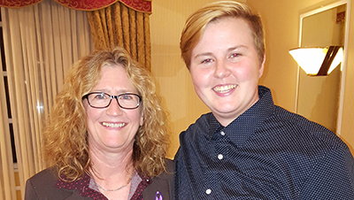 Lock Haven University student receives PA TRIO Scholarship
