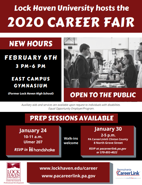 2020 LHU Career Fair