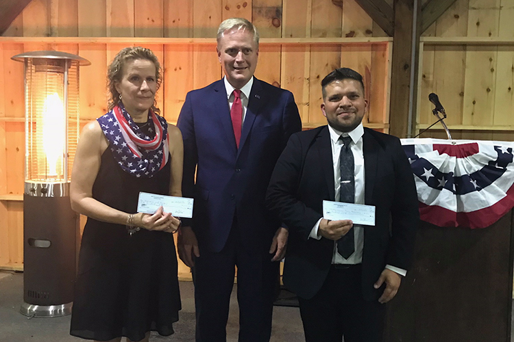 LHU College Republicans club and Centre County Association of Young Republicans honor local veterans